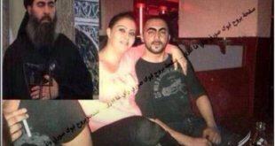 عکس/ خلیفه داعش در حال هوس بازی با یک زن فاحشه