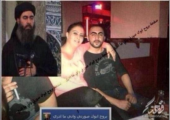www.dustaan.com عکس/ خلیفه داعش در حال هوس بازی با یک زن فاحشه
