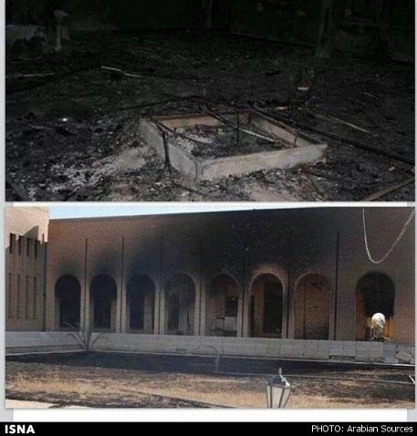 www.dustaan.com عکس/ قبر صدام به آتش کشیده شد!