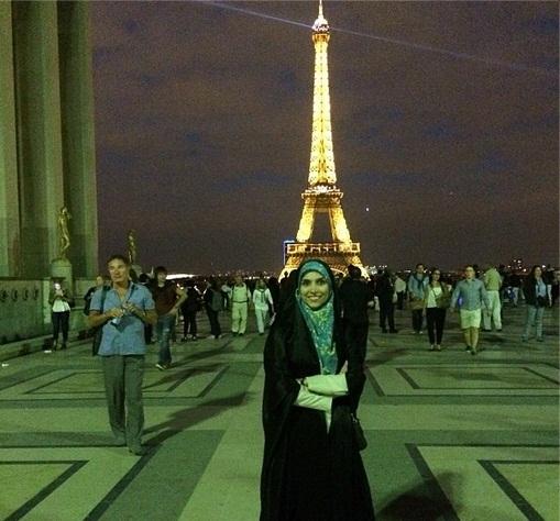 www.dustaan.com عکس/ تیپ جالب مژده لواسانی در فرانسه!