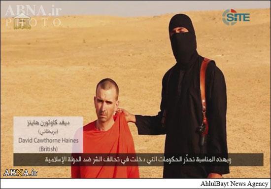 www.dustaan.com تصاویر سلاخی «هینز» امدادگر انگلیسی توسط داعش (18+)