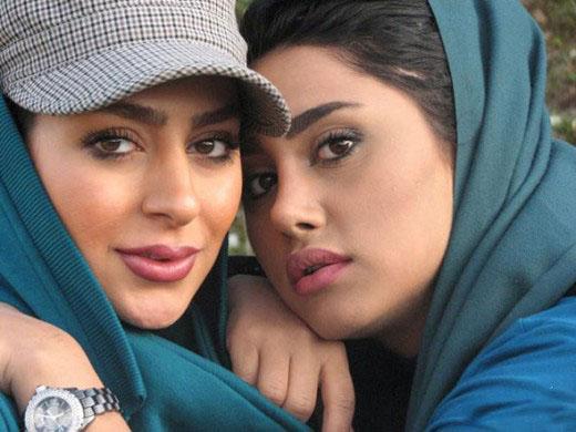 www.dustaan.com عکس/ سمانه پاکدل بازیگر معراجی ها و خواهرش