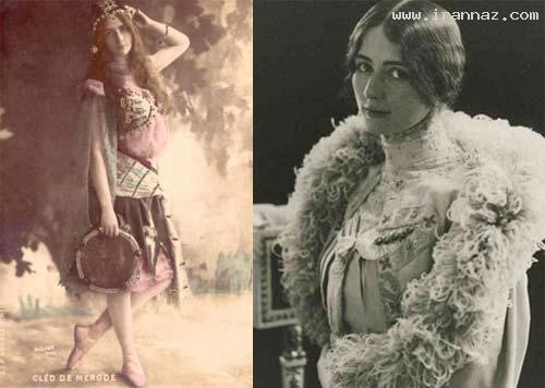 www.dustaan.com تصاویر/ اولین ملکه زیبایی جهان و ایران در سال 1896