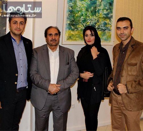 www.dustaan.com عکس/ رز رضوی در سفارت اسلواکی واقع در زعفرانیه