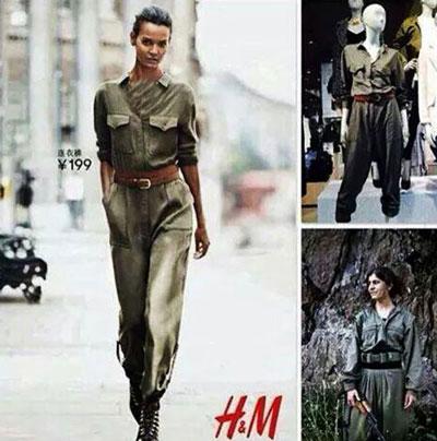 www.dustaan.com تصاویر/ مد شدن لباس زنان جنگجوی کُرد در کشورهای غربی!
