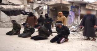 جنایت جدید و وحشتناک داعش در شهر رقه +تصاویر