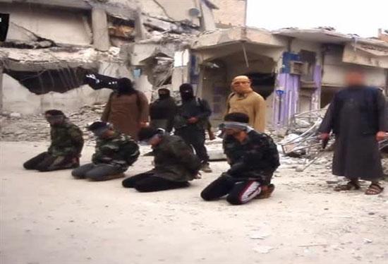 www.dustaan.com جنایت جدید و وحشتناک داعش در شهر رقه +تصاویر