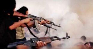 فیلم هالیوودی داعش از سر بریدن سربازان سوری!
