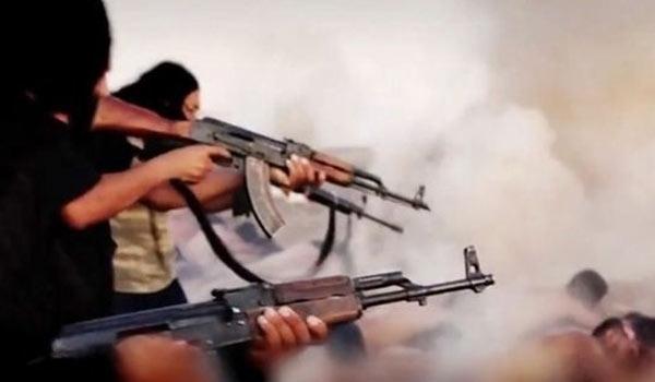 www.dustaan.com فیلم هالیوودی داعش از سر بریدن سربازان سوری!