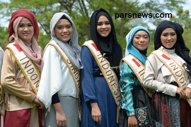 www.dustaan.com مسابقه ای بسیار متفاوت برای انتخاب ملکه زیبایی در اندونزی+ تصاویر