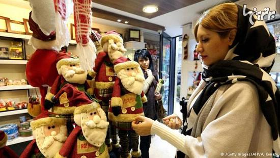 www.dustaan.com تصاویر خبرنگاران خارجی از حال و هوای کریسمس در ایران