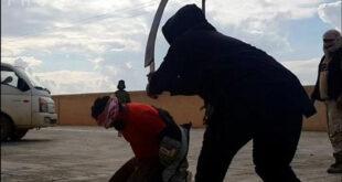 تصاویر گردن زدن وحشیانه ۴ مرد توسط داعش +18