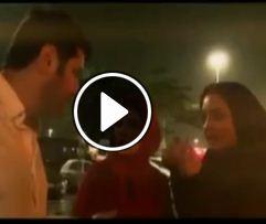 www.dustaan.com فیلم/ درگیری شدید لفظی سام درخشانی و نرگس محمدی در برزیل