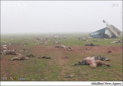 www.dustaan.com 35 کشته در سقوط هواپیمای ارتش سوریه+تصاویر (+18)