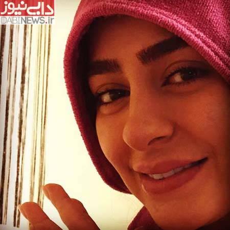 www.dustaan.com عکس/ سمانه پاکدل در چالش عکس بدون آرایش!