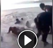 فیلم/ غرق شدن دو دختر دانشجو در شورابیل اردبیل