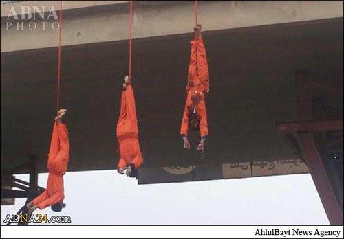عکس/ اعدام وحشیانه سه پیشمرگه به دست داعش