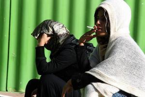 عکس/ زنانی که اهل دود و دم هستند!