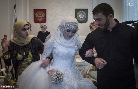 تصاویر/ ازدواج زوری دختر 17 ساله با رئیس پلیس!