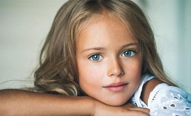www.dustaan.com عکس/ دختر ۸ ساله روسی، نهمین سوپر مدل دنیا!