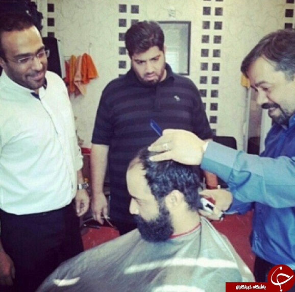 www.dustaan.com عکس/ مداح معروفی که آرایشگر شد!