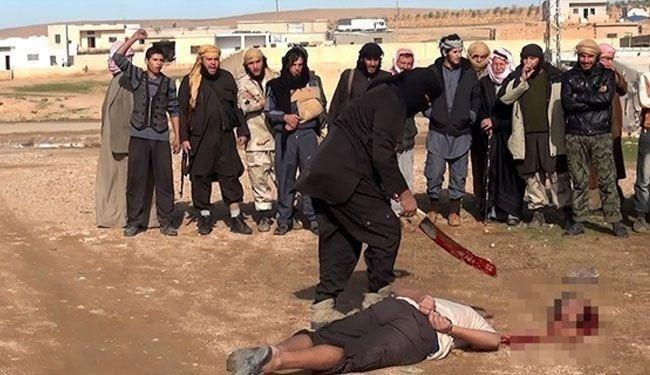 www.dustaan.com عکس/ داعش چگونه ۴۰۰ نفر را یکجا گردن زد!؟ +۱۸