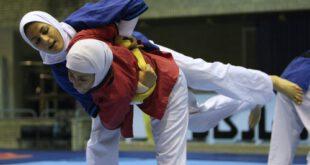 تصاویر/ تمرین کشتی زنان در تهران