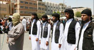 تصاویر جنایات فجیع داعش/ اعدام یک جوان با روشی جدید