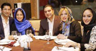 عکس/ نیوشا ضیغمی،شیلا خداداد و الهام حمیدی در کنار همسرانشان