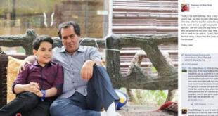 عکس/ کامنت عجیب اوباما برای پسربچه تبریزی