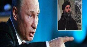 پوتین خطاب به سربازانش : فرمانده داعش را زنده می خواهم