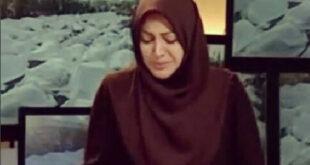 عکس العمل یک مجری به گریه همسرش