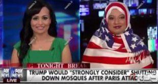 عکس/ روسری عجیب کارشناس زن در برنامه زنده تلویزیونی!