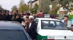 فیلم/ لحظه دستگیری سارق مسلح طلا فروشی گلستان