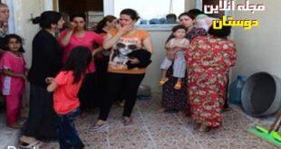 تجاوز گروهی اعضای داعش به زنان ایزدی در ملاء عام