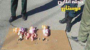 کشف اسباب بازی بمبگذاری شده داعش درکاشمر