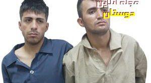 تصویر دو جوان که به ۵ زن در پایتخت تعرض کردند