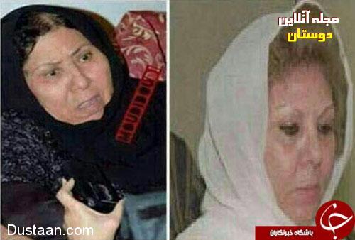 زن صدام به صدام پیوست +عکس