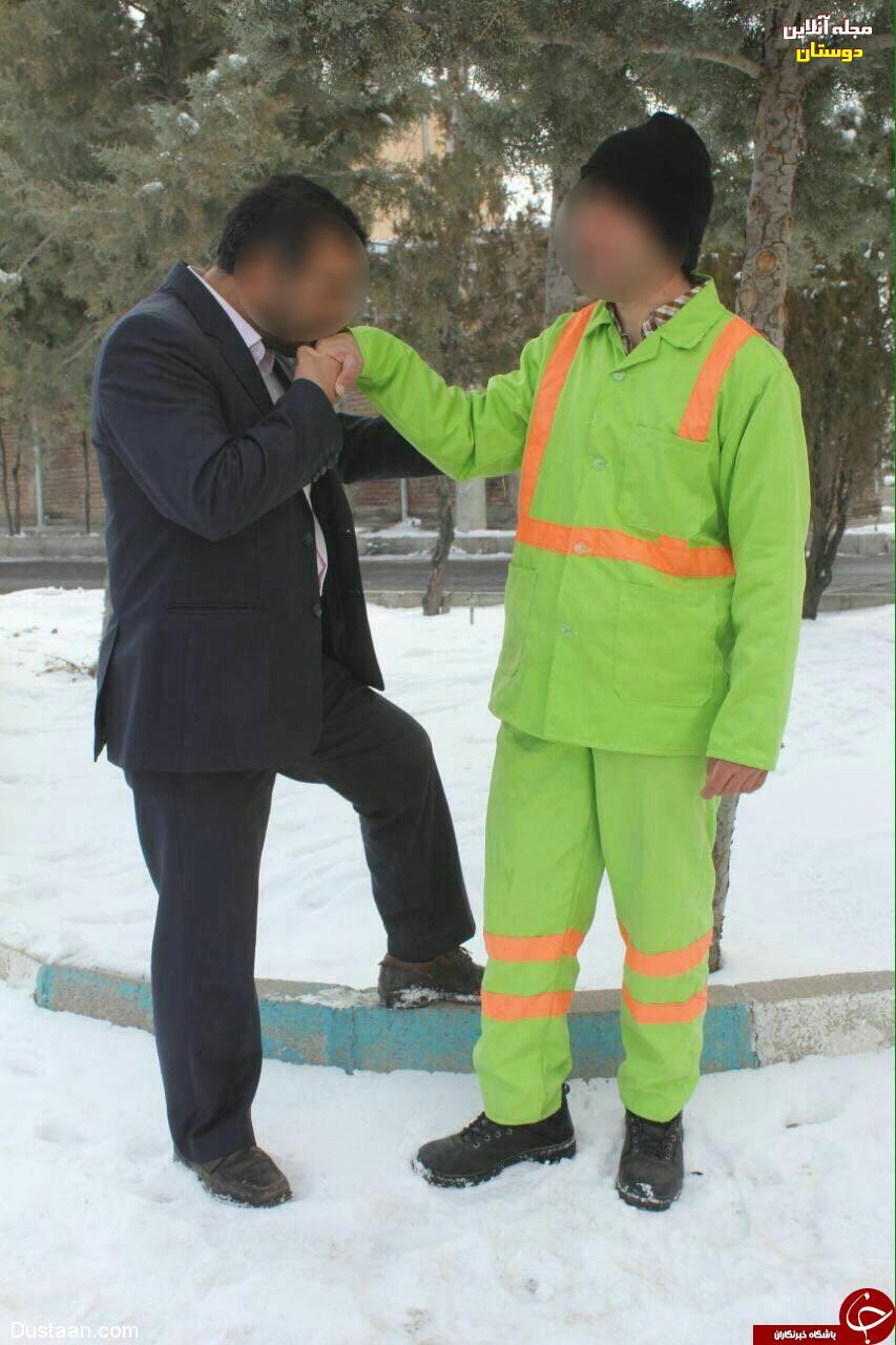 عکس تبلیغاتی جالب داوطلب کاندیداتوری مجلس!
