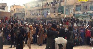 داعش تمامی ساکنین یک روستا را یکجا سر برید