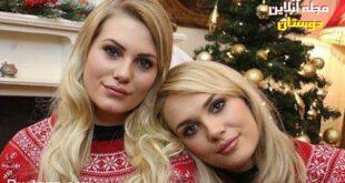 شباهت باورنکردنی دو دختر زیبا و غریبه به هم! +تصاویر