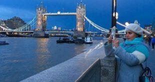 عکس و تیپ زیبای الناز شاکردوست در لندن