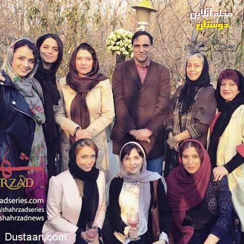 بازیگران زن سریال شهرزاد بدون گریم! + عکس