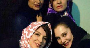 جشن تولد آرام جعفری در کنار بازیگران معروف+عکس