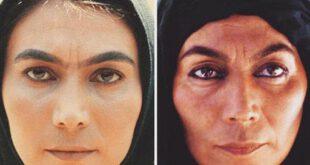 عکس/ دو گریم متفاوت از خانم بازیگر معروف ایرانی