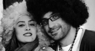 خانم بازیگر ایرانی در روز عشق از همسرش رونمایی کرد! +تصاویر