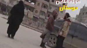 فیلم / دوربین مخفی زنان رقه از جنایات داعش