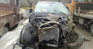 تصادف شدید BMW X6 در ایران +تصاویر