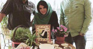 رونمایی خانم بازیگر کشورمان از همسرش! +عکس