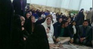 فیلم/ عقد رسمی قوچان نژاد با خواهر بازیگر سینما در حرم امام رضا(ع)